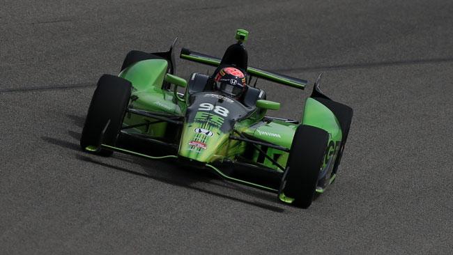Hawksworth può tornare a correre all'Iowa Speedway