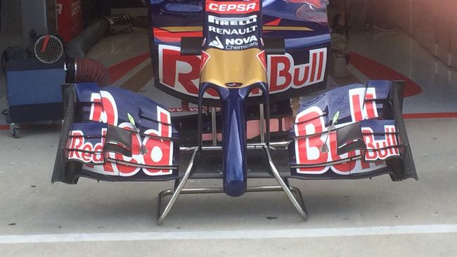 La Toro Rosso con ala da più alto carico