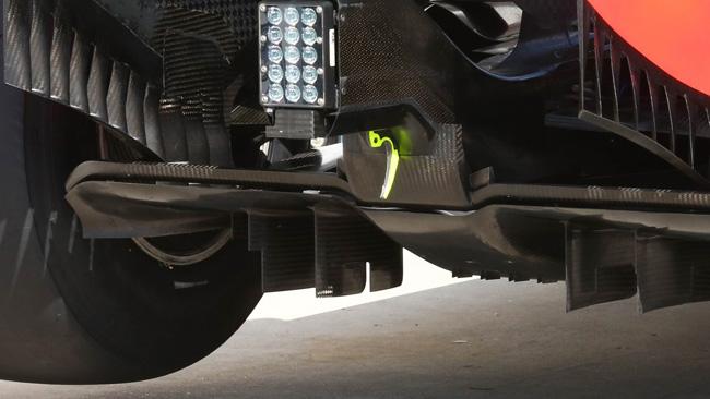 Red Bull: nuovo il diffusore posteriore della RB10