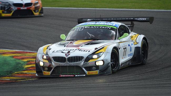 24 Ore di Spa: dopo 15 ore comanda la BMW