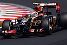 Maldonado: sostituito il cambio della Lotus