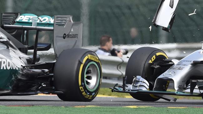 Nico non l'ha fatto apposta, ma ha provocato Lewis