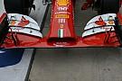 La Ferrari utilizza l'ala davanti più scarica