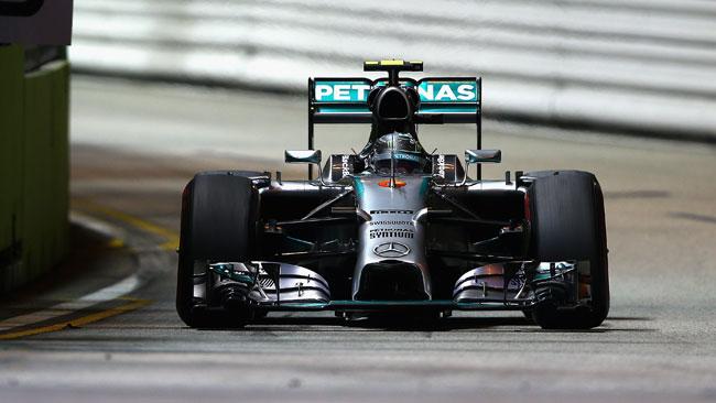 Singapore, Q2: le Mercedes rispondono alle Ferrari