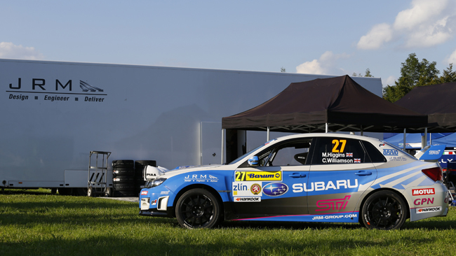 Higgins e Cronin con la Subaru JRM
