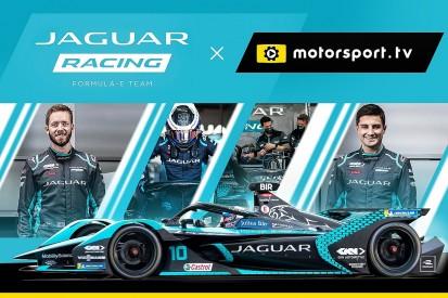 Jaguar Racing launches dedicated channel on Motorsport.tv