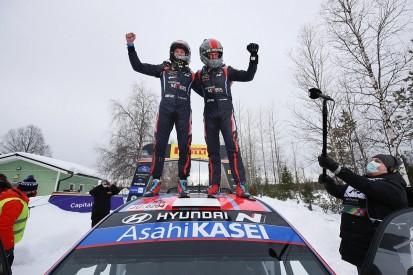 "Tanak ""pushing"" Hyundai for improvements in Arctic Rally win"