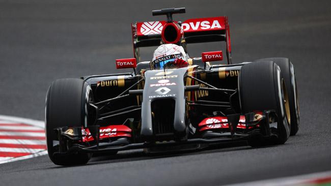Ufficiale: Lotus con le power unit Mercedes dal 2015