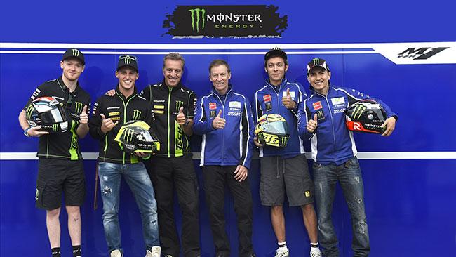 Yamaha e Monster Energy insieme altri due anni