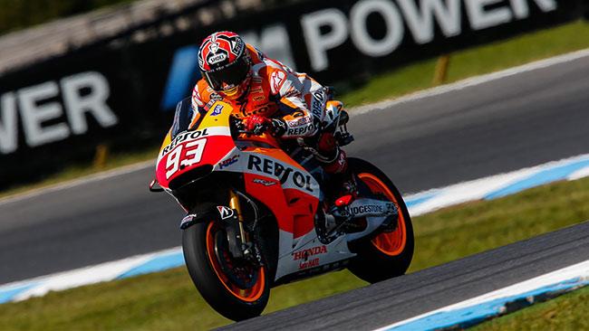 Phillip Island, Q2: Marquez in pole davanti a Crutchlow