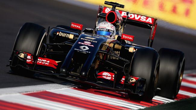 La Lotus spera di tenere Grosjean anche nel 2015