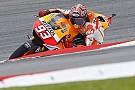 Sepang, Libere 4: Marquez cade, ma è il più veloce