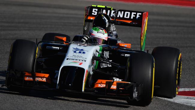 Perez paga sette posizioni in griglia in Brasile