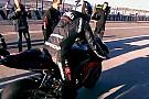 Primi giri in sella all'Aprilia MotoGp per Melandri