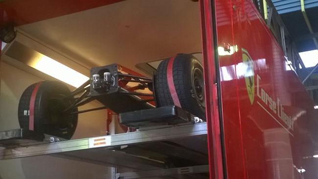 Motor Show: al paddock c'è già anche la Ferrari