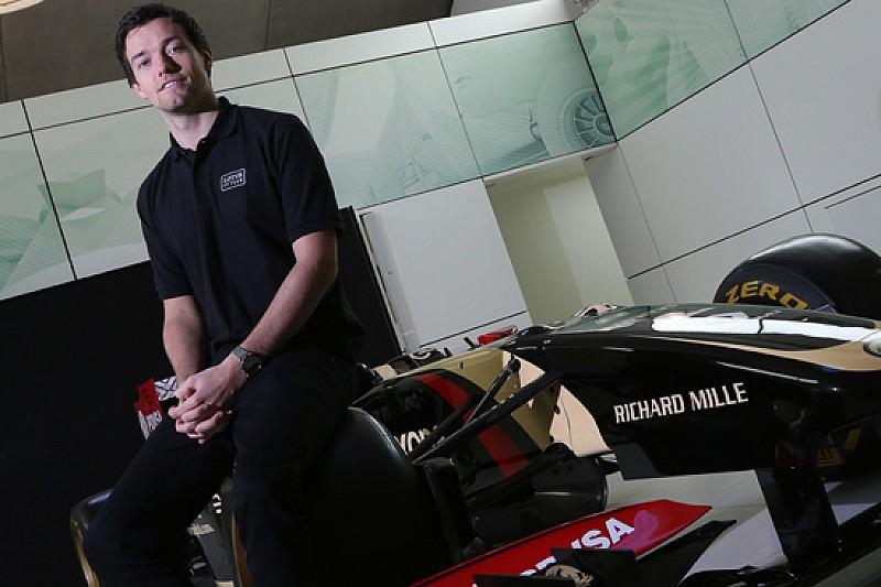 Lotus: Jolyon Palmer sarà il terzo pilota di Enstone