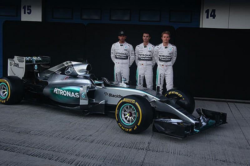 La Mercedes ha svelato la W06 Hybrid a Jerez