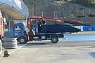 Bandiera Rossa: Kvyat fermo alla curva 9