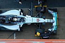Prove aerodinamiche per la Mercedes di Hamilton