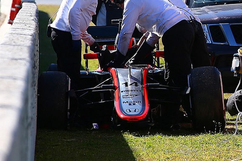 Incidente Alonso: il crash con un urto di oltre 15 G