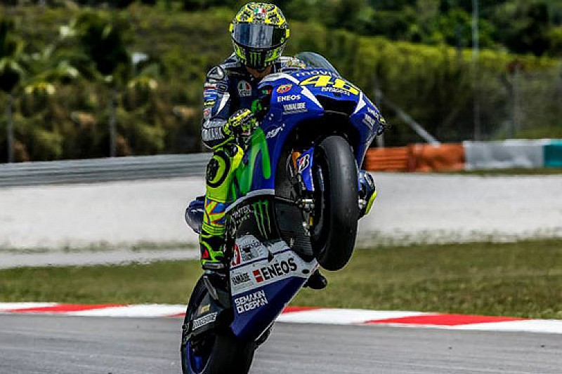Sepang, Day 1: Rossi mette tutti alle spalle