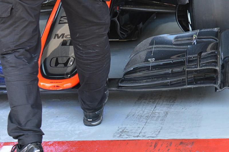 McLaren: paratia dell'ala modificata per Alonso