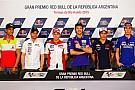 Dovizioso e Marquez a caccia di Rossi in Argentina
