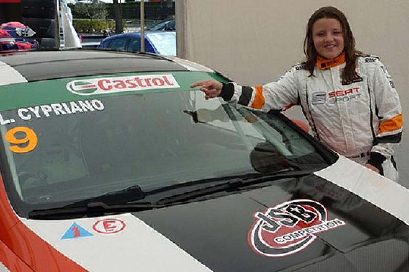 Lucile Cypriano prima donna a correre in TCR