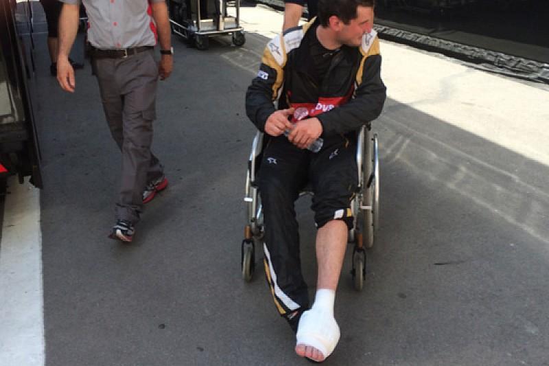 Lotus: i tre meccanici contusi hanno concluso i pit stop