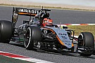Test aerodinamici per la Force India e Ocon