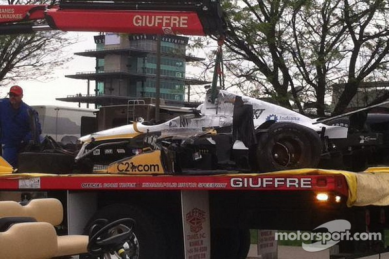 Newgarden escapes airborne crash uninjured