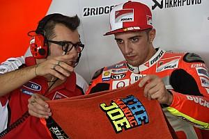 MotoGP Actualités Iannone souffre beaucoup, mais veut