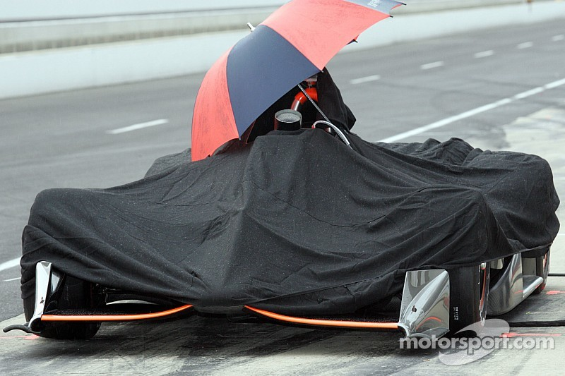 Clasificación cancelada en Indy 500