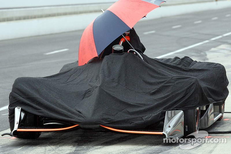 Субботняя квалификация Indy 500 отменена, времена аннулированы