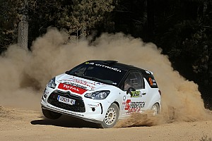 Other rally Race report Sullens takes maiden ARC heat win