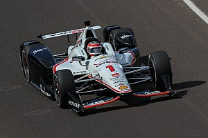 IndyCar Practice report Speeds at Indy drop after IndyCar makes changes to cars