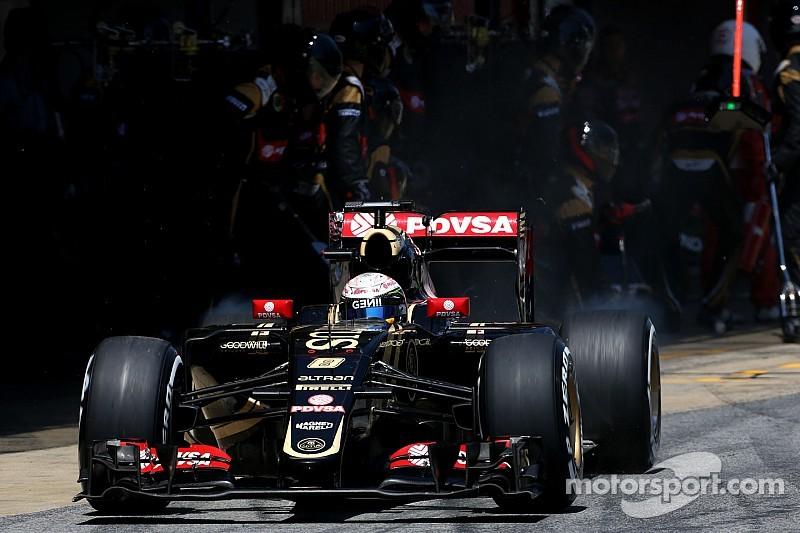 Grosjean penaliza por reemplazar la caja de cambios