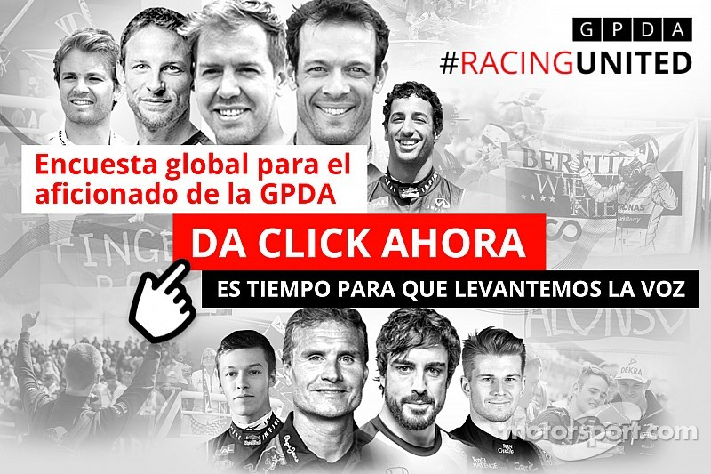GPDA y Motorsport.com lanzan encuesta global para el aficionado