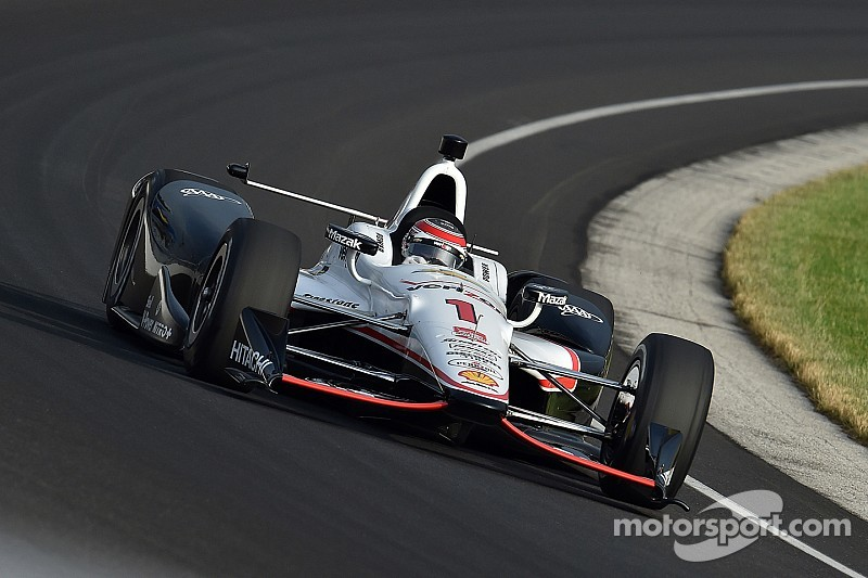 Will Power tops 229mph in Carb Day practice