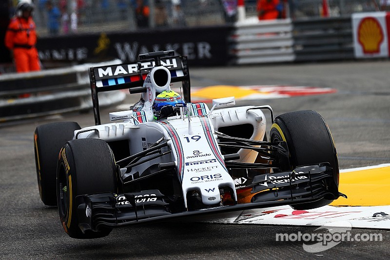 Massa qualified 14th and Bottas 17th for the Monaco GP