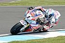 Sylvain Guintoli poursuit le développement de sa Honda