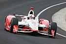 Juan Pablo Montoya sans voix après sa victoire à Indianapolis!