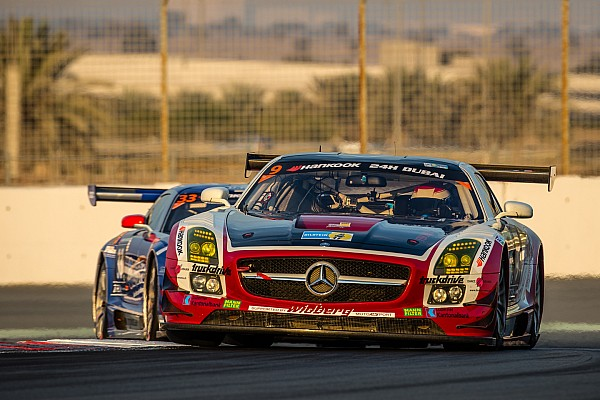 Christiaan Frankenhout puts the Hofor Racing Mercedes-Benz SLS AMG on pole for 12H Zandvoort