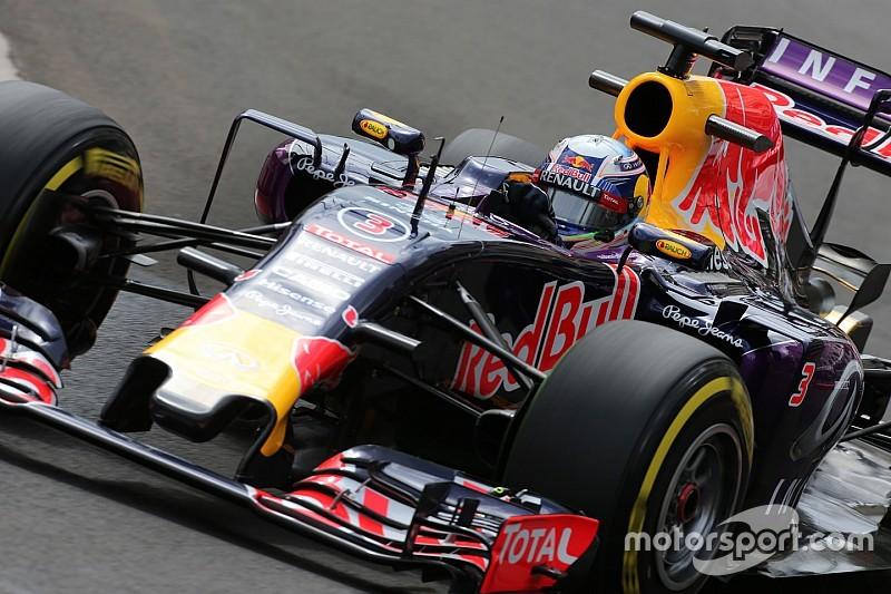 Red Bull espère finir le weekend sans cinquième moteur