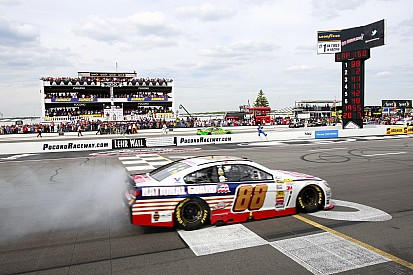 NASCAR drivers concerned with the Tunnel Turn at Pocono