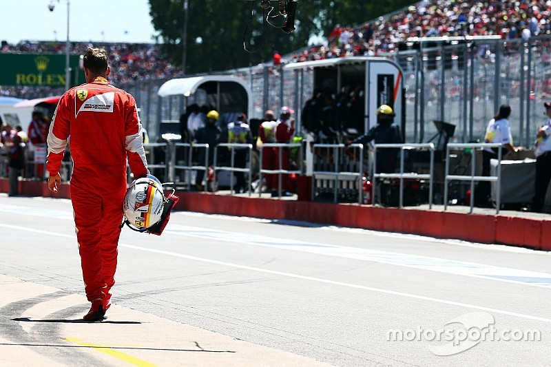 Vettel handed five-place grid penalty