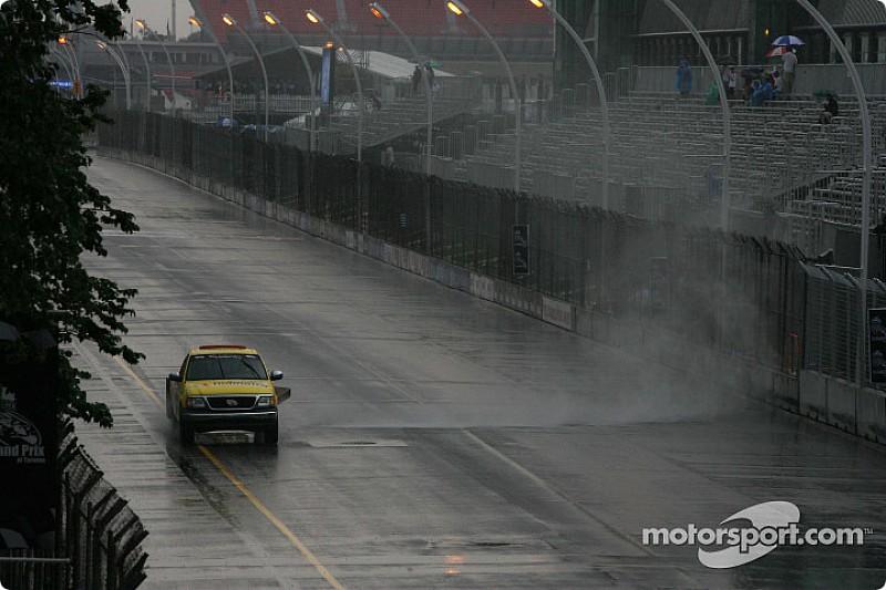 La pluie annule les essais à Toronto
