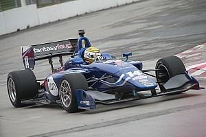 Indy Lights Interview Débuts réussis voire... fracassants pour Nelson Piquet Jr