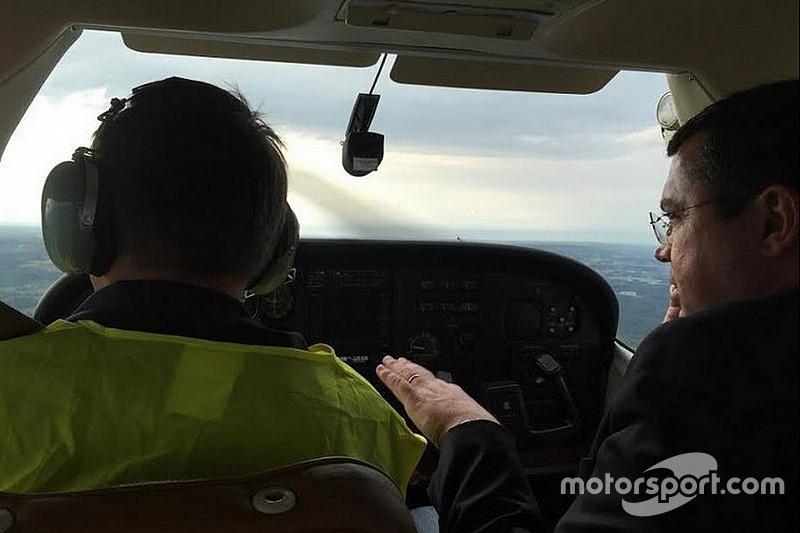 Eric Boullier sain et sauf après une défaillance de son avion