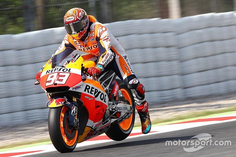 Márquez está descontento con Honda